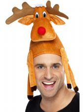 Christmas Reindeer Hat